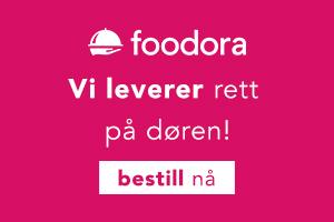foodora Vi leverer rett på døren!